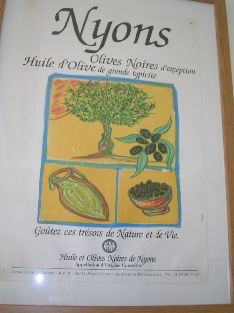 Huile d'olive Nyons
